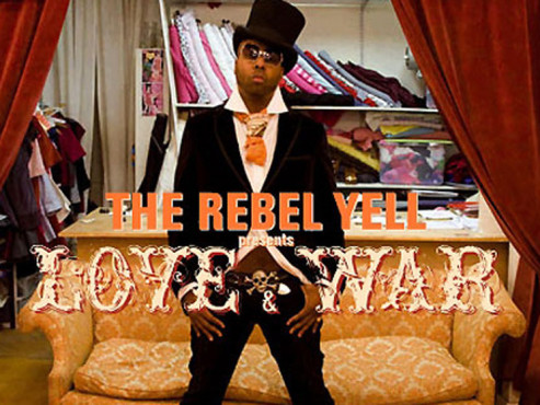 CD-Cover: The Rebel Yell – Love & War