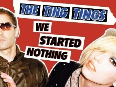 CD-Cover: The Ting Tings - We Started Nothing