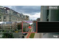 Nokia N86 8MP Breitbilder: Im Panorama-Modus wird automatisch der Anschluss ans vorige Foto gew�hlt.