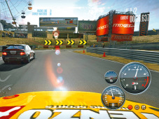Rennspiel – Need for Speed Shift: Armaturen