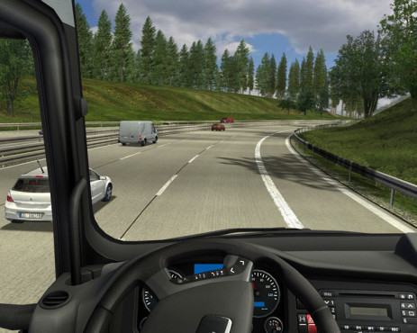 Simulation German Truck Simulator: Schatten