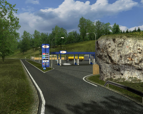Simulation German Truck Simulator: Tankstelle