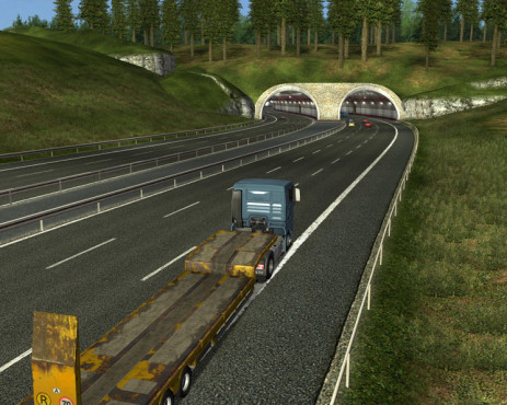 Simulation German Truck Simulator: Tunnel