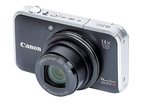 Canon PowerShot SX210 IS © COMPUTER BILD