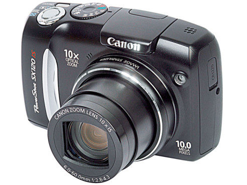 Canon Powershot SX120 IS © COMPUTER BILD