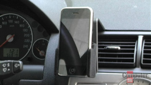Das iPhone im Auto: Halterung, Freisprecheinrichtung und Autoradio ©computerbild.de