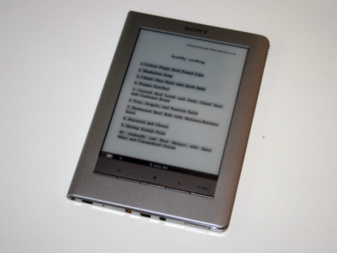 Sony Touch-Reader PRS-600