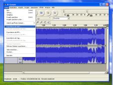 Musikeditor Audacity: Screenshot