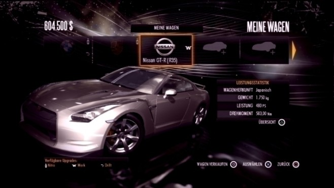 Rennspiel Need for Speed – Shift: Nissan GT-R