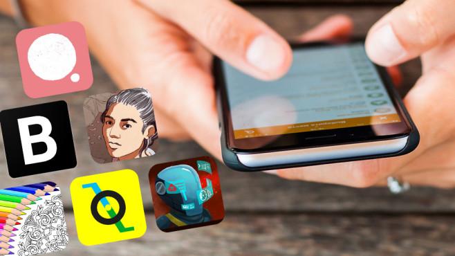 iPhone-Apps ©armada1985-Fotolia.com, Blockfolio, G+J Innovation, Fun Games For Free, Playdius Entertainment , Eldritch, Krautonauts