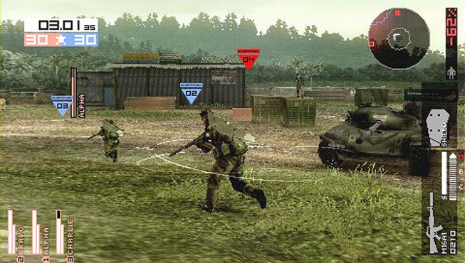 Actionspiel Metal Gear Solid – Peace Walker: Panzer