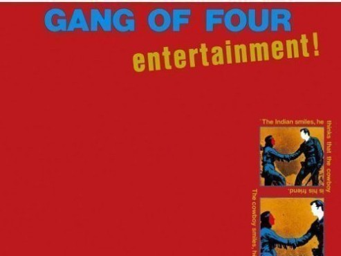 CD-Cover: Gang of Four – Entertainment