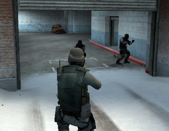 Actionspiel Counter Strike – Source: Screenshot