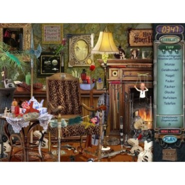 Denk-/Knobelspiel Mystery Case Files: Screenshot