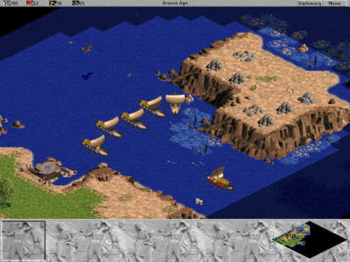 Strategiespiel Age of Empires: Screenshots