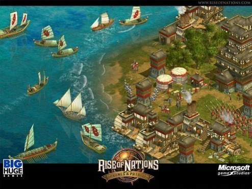Strategiespiel Rise of Nations Gold Edition: Screenshot