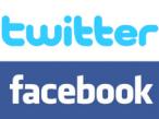 Twitter und Facebook für Xbox-Live: Logos