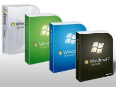 Windows-7-Versionen ©Microsoft