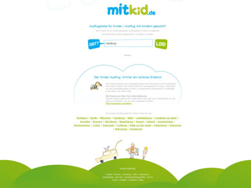 Screenshot: www.mitkid.de