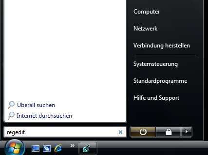 iPod FWID herausfinden: Windows Vista
