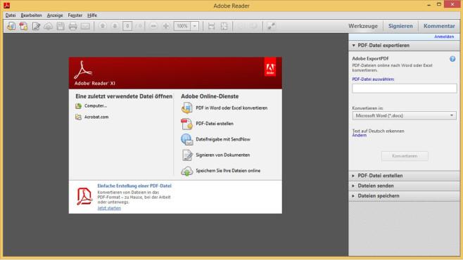 Adobe Reader: PDF-Dateien �ffnen ©COMPUTER BILD