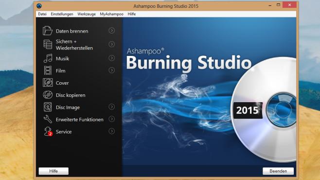 Ashampoo Burning Studio 2014: Brenn-Suite mit vielen Funktionen ©COMPUTER BILD