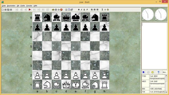 Jose: Ersatz f�r fehlendes Schachspiel ©COMPUTER BILD