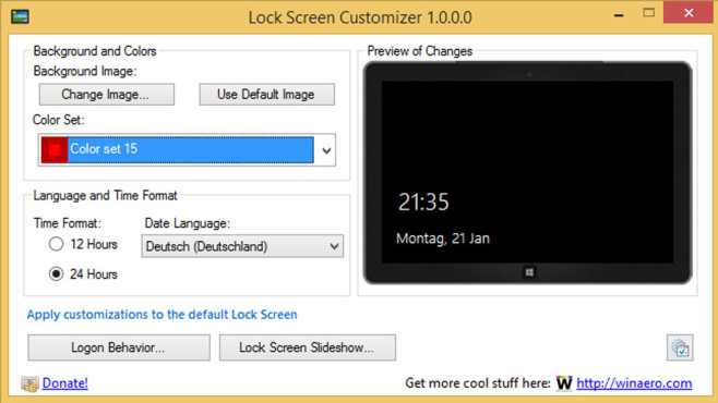 Lock Screen Customizer: Anmeldebildschirm individualisieren © COMPUTER BILD