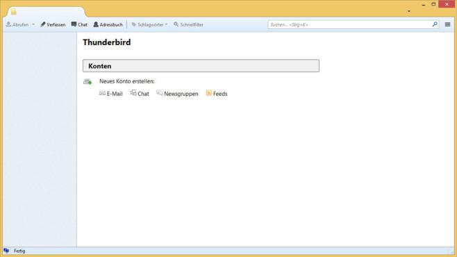 Mozilla Thunderbird: Vollwertiges E-Mail-Programm ©COMPUTER BILD