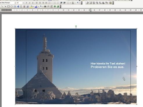 Eigene Karten mit Word erstellen Bilder einfügen ©Microsoft