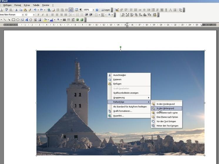 Eigene Klappkarten erstellen – mit Word - Bilder, Screenshots ...
