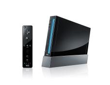 Schwarze Wii: Konsole
