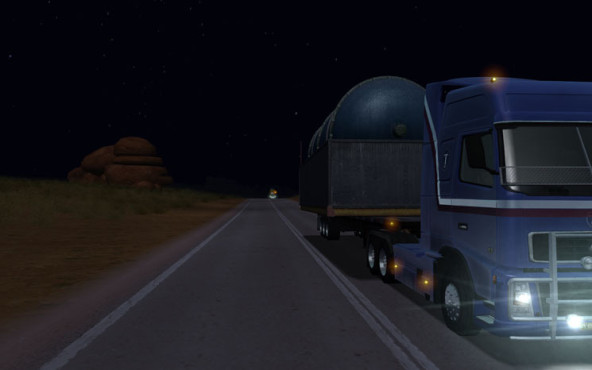 18 Wheels of Steel – Extreme Trucker: Dunkelheit