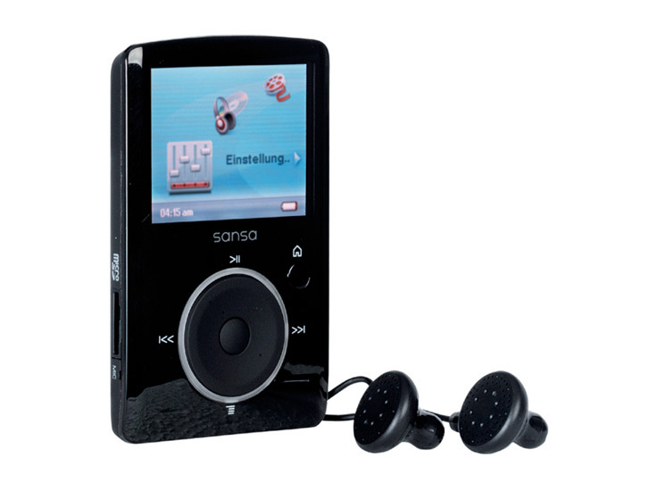 test mp3 player sandisk sansa fuze audio video foto bild. Black Bedroom Furniture Sets. Home Design Ideas