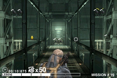 Actionspiel Metal Gear Solid – Touch!: Ballerei © Actionspiel Metal Gear Solid – Touch!: Ballerei