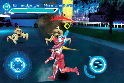 Actionspiel für iPhone, iPod touch: Iron Man 2 © Gameloft