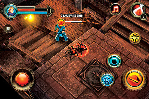 Dungeon Hunter 2 © Gameloft
