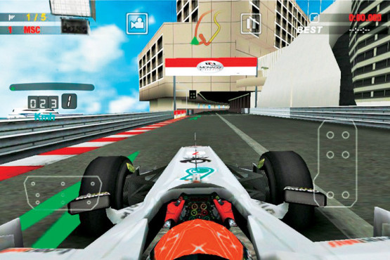 F1 2011 Game © Codemasters