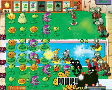 Strategiespiel für iPhone und iPod Touch Plants vs. Zombies © PopCap