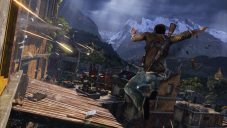 Actionspiel Uncharted 2 – Among Thieves: Dächer