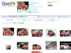 Screenshot Gazopa-Bildersuche