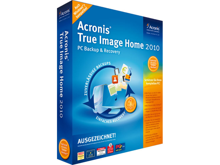 Acronis true image recovery disk