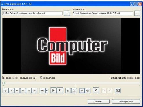 Free Video Dub: Software-Tipp