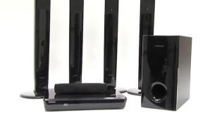 Video zum Testsieger: Blu-ray-Komplettanlage Samsung HT-BD1255