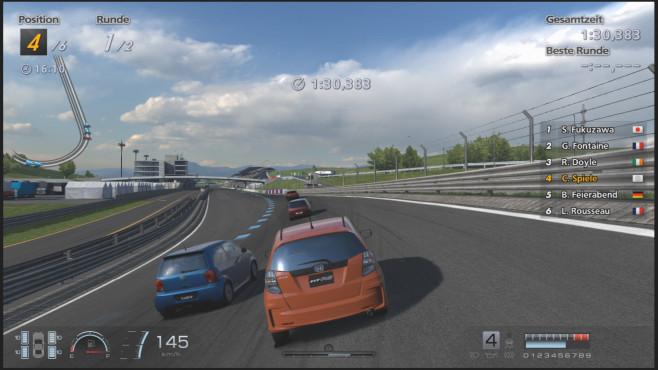 Rennspiel Gran Turismo 6: Kurve ©Sony