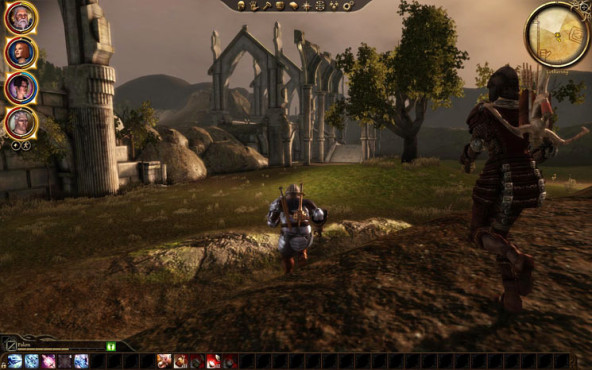 Komplettl�sung Dragon Age � Origins: Landschaft