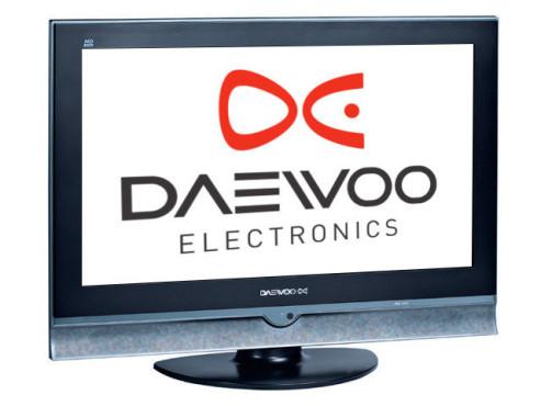 Flachbildfernseher von Daewoo