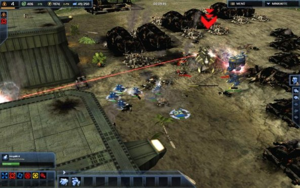 Strategiespiel Supreme Commander 2: ACU-Kampf