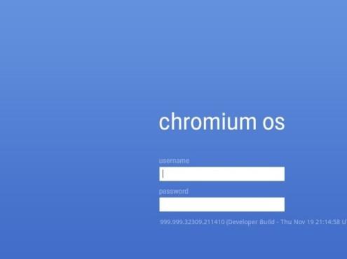 Chrome OS: So sieht das Google-Betriebssystem aus Anmeldung