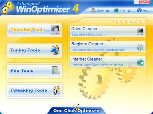 Ashampoo WinOptimizer 4 © Screenshot